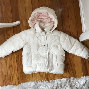 Baby Gap puffer jacket with detachable hood